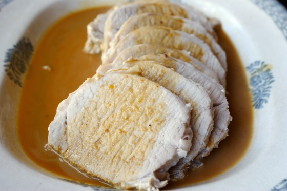 Pork Loin with Caramel
